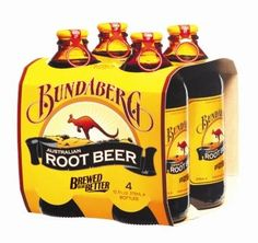 Bundaberg - An Australian root beer.  The flavor had a heavy licorice overtone to it.  I imagine that if I was Australian I would have loved it but it didn't fit my American idea of root beer.