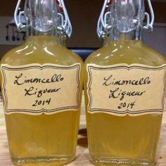 Limoncello (licor italiano de limão)