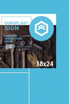 24x18 Coroplast Lawn Sign