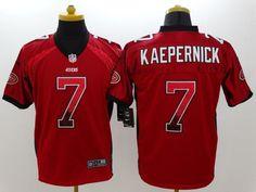 41ee2db55 Men 7 Colin Kaepernick Jersey Football San Francisco 49ers Jersey
