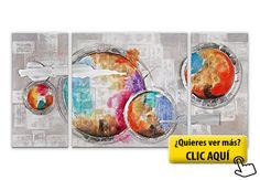 Arte dal Mondo AS351TX2 Abstrato Pintura realizada... #cuadros