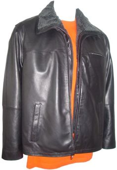 Paccilo Men 1000 Big Long Tall Size Lamb Leather Jacket