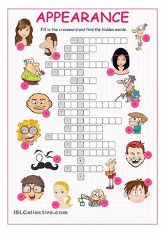 Appearance Crossword Puzzle