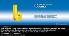 bauma 2013 International Trade Fair for Construction Machinery, Building Material Machines, Mining Machines, Construction Vehicles and Construction Equipment 뮌헨 건설기계,건축재료기계,건설차량 및 설비,광산용 기계 박람회