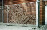 Gelmo Hekwerk Lace Fence Interieur