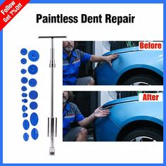 ! Car Sheet Metal Depression Repair Puller Unmarked Suction Cup Convex Pull Hammer Car Dent Removal Bar- Does Not Ruin Paint Car Cleaning Hacks, Car Hacks, Remove Dents From Car, Choses Cool, Hammer Car, Auto Body Repair, Car Repair, Car Fix, Car Gadgets