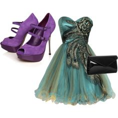 Mardi Gras Party Outfit- beautiful