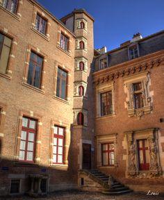 L'hôtel du Vieux-Raisin, Toulouse, France © Photorendu #visiteztoulouse