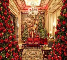 Christmas at Hotel George V, Paris