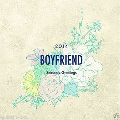 BOYFRIEND - 2014Season's Grittings[DesktopC+Scheduler+Postcards+Sticker+PosterC]