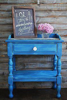 1000 images about muebles de colores on pinterest beach - Pintura ala tiza para muebles ...