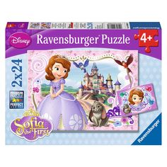 "Sofia the First: Sofia's Royal Adventures (2 x 24 Piece Puzzles) - Ravensburger - Toys ""R"" Us"