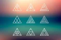Ad: Hipster logo shapes set of 40 by Marylia on Set of hipster geometric editable abstract logo shapes. You may use them for creating your own logos, banners or any decoration. Logo Inspiration, Watercolor Circles, Yoga Logo, Crystal Logo, Logo Shapes, Hipster Logo, Abstract Logo, Studio Logo, Freelance Graphic Design