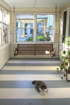 to one day have an enclosed porch...