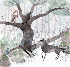 Julianna Swaney | wolf & girl 4 |