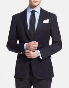 Navy Wool Sportcoat | Ralph Lauren Black Label