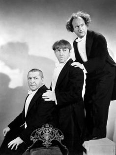 The Three Stooges, Half Wits Holiday, Curly Howard, Moe Howard, Larry Fine, 1947