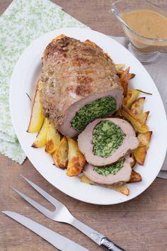 Tasca di vitello ripiena: un'idea semplice e golosa per  il pranzo della domenica.  Stuffed veal