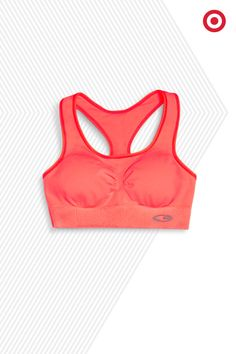 With eight colors to choose from this C9 Champion Seamless Racer Sports Bra will earn you comfort and style cred on your next run.