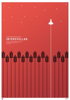 When the poster for Interstellar, Christopher Nolan& film that just . - When the poster for Interstellar, Christopher Nolan's film, which just hit theaters, was imagined - Minimal Movie Posters, Minimal Poster, Cinema Posters, Cool Posters, Film Posters, Minimalist Poster Design, Protest Posters, Simple Poster, Minimalist Style
