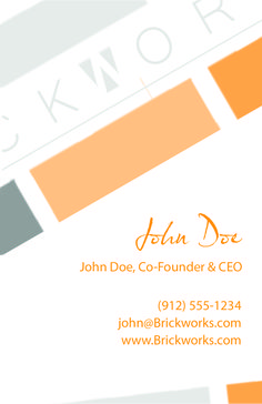 Danielle Hendriks - BusinessCard Front