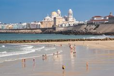#Cádiz #Beach - #Travel #Photography #Cityscape #Landscape #Spain #Andalucia