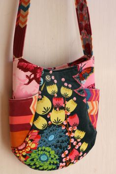 noodlehead two4one bag, anna maria horner fabric