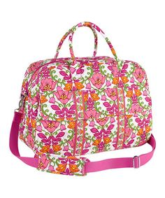 Vera Bradley on Zulily! This Lilli Bell Grand Traveler Bag is perfect! #zulilyfinds
