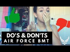 DO'S AND DON'TS AIR FORCE BMT - YouTube