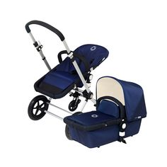 Bugaboo Cameleon - Navy/Off-White  - With its feature-packed stroller designs, Bugaboo single-handedly redefined the stroller market when it came on the scene and still boasts some of the hottest strollers around today.