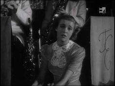 Alice Babs sjunger Regntunga skyar. Från filmen Swing it, magistern! från 1940.