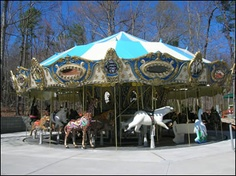 """North Carolina Zoo in Ashboro, NC. Huge! You cannot do every exhibit in one visit, it's just TOO big. Love it, there's two different cross zoo treks- train and tram, a giant carousel, and is split into animal appropriate """"continents""""."""