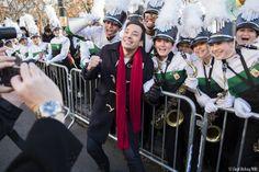 Parade excitement