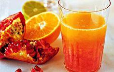 Nar ve turunçgiller karışımı