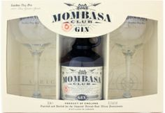 Gin Mombasa Club PACK c/ 2 Copos - Disponível em www.estadoliquido.pt