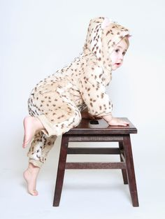 Spirit hood :: KIDS :: F/W 2012 Infant/Toddler :: Baby Romper Snow Leopard
