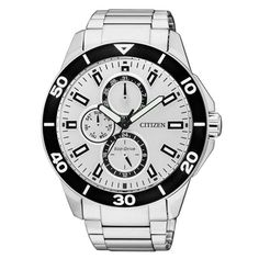 Citizen Uhr Nr. AP4030-57A. Machen Sie ein unvergessliches Geschenk und schenken Sie diese Uhr mit einer persönlichen Gravur.
