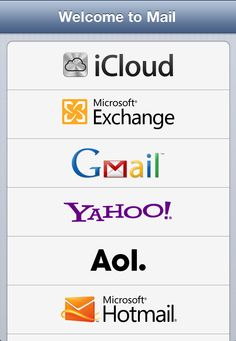 iOS: Setting up an email account