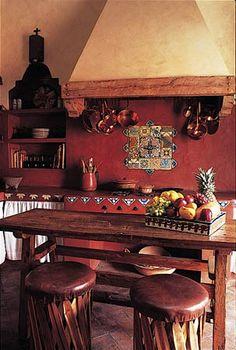 Mi decor mexicana on pinterest mexican kitchens for Cocinas tradicionales