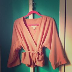 ✨HOST PICK✨ SWEET & STUNNING PINK JACKET Light jacket in perfect condition:) Wore it once. Beautiful salmon color:) - Jackets & Coats