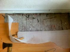"""http://www.renovieren-shop.de/2014/01/09/dielen-und-parkett-unter-laminat-versteckt/  #Dielen und #Parkett unter #Laminat """"versteckt"""