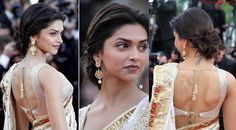 bollywood hairstyles updos deepika padukone - Google Search