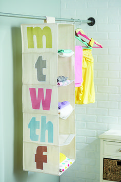 Homemade closet organizers can really change your routine and turn your day around.