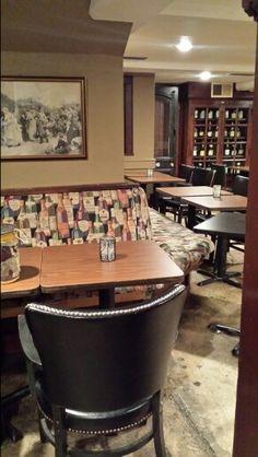 Wine Cellar Corner Wine Bar, Wine Cellar, Table, Furniture, Home Decor, Riddling Rack, Decoration Home, Room Decor, Tables