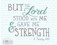 Image result for 2 timothy 4:17