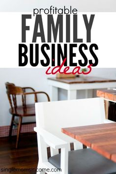 Are you looking for profitable family business ideas? Here are some popular and profitable ideas among family business owners for you to check out. http://singlemomsincome.com/profitable-family-business-ideas-youll-love/ setting goals, goal setting #goals #motivation