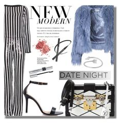 """Date Night: Jumpsuit Style"" by fattie-zara ❤ liked on Polyvore featuring moda, Marc Jacobs, Glamorous, Dee Keller, Louis Vuitton, Christian Dior i DateNight"