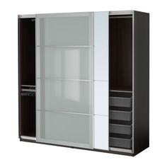 IKEA - PAX, Armario, dispositivo cierre suave, 200x66x201 cm, , 10 años de garantía. Consulta las condiciones generales en el folleto de garantía.Utiliza la herramienta de planificación PAX para adaptar esta combinación PAX/KOMPLEMENT a tus gustos y necesidades.Las puertas correderas te dejan más sitio para poner muebles, ya que no ocupan espacio cuando están abiertas.Dispositivo para un cierre suave y silencioso.Si quieres organizar el interior, puedes añadir los accesorios de interior de…