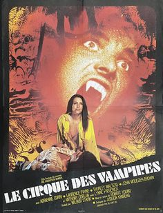 El Circo de los Vampiros (Vampire Circus) (Le Cirque Des Vampires) (O Circo Do Vampiro) (La Regina Dei Vampiri) (Robert Young, Reino Unido, Horror Movie Posters, Movie Poster Art, Film Posters, Horror Movies, Hammer Horror Films, Hammer Films, Hammer Movie, Vampires, Vampire Circus