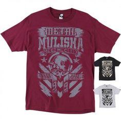 Metal Mulisha Chalk Mens Tees Crewneck Short Sleeve T-Shirts